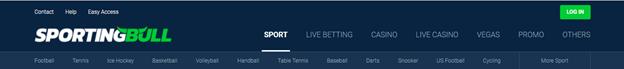 sportingbull bookmaker