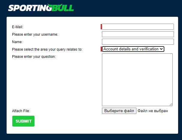 саппорт sportingbull